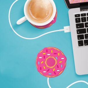 Donut USB-bekerverwarmer