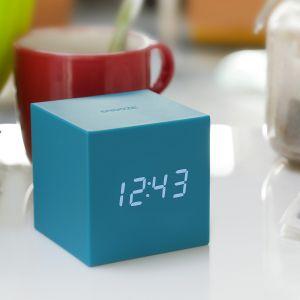 Klok Zwaartekracht Cube Click Clock