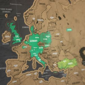 Kras-wereldkaart Scratch Map Deluxe