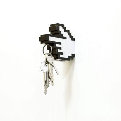 Housewarming cadeau - 8 bit magnetische sleutelhanger