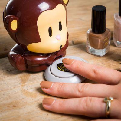 Cadeau voor zus - Nagellakdroger aap