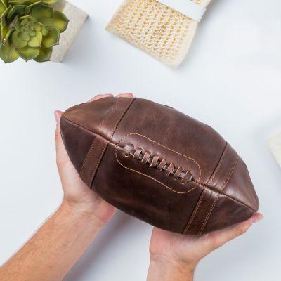 Retro kamer - Lederen American Football tasje