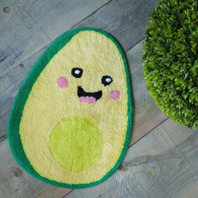 Decoratie - Happy Avocado badkamermat