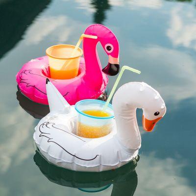 Cadeau voor koppel - Set van 3 zwemmende vogel bekerhouders