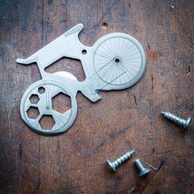 Gadgets & Techniek - 13-in-1 multitool met fiets design