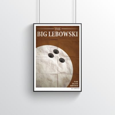 Film & Serie - The Big Lebowski poster