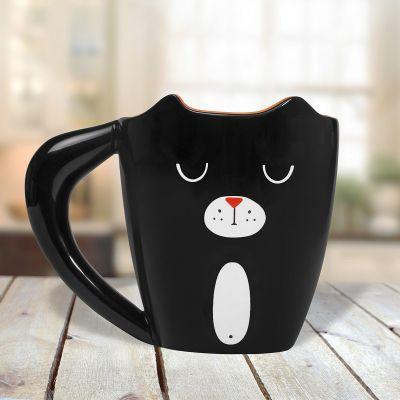 Cadeau voor moeder - Zwarte Kat Mok