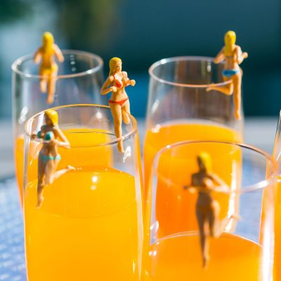 Verjaardagscadeau voor 50 - Boezemvrienden glasmarker Bosom Buddies