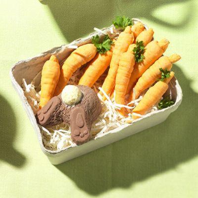 Snoepgoed - Haas en wortelen van chocolade