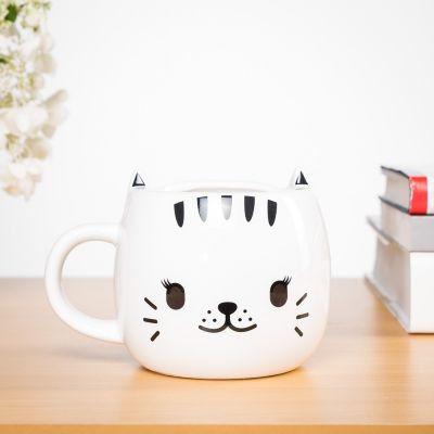 Kopjes & glazen - Warmtegevoelige kat mok
