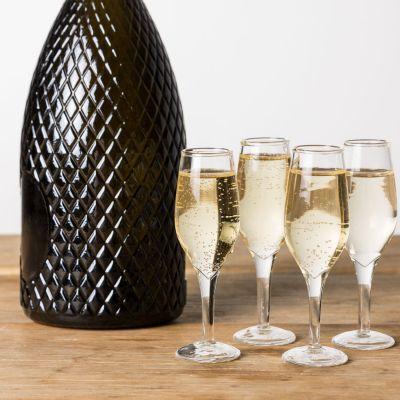 Housewarming cadeau - Champagne shotglaasjes in set van 4