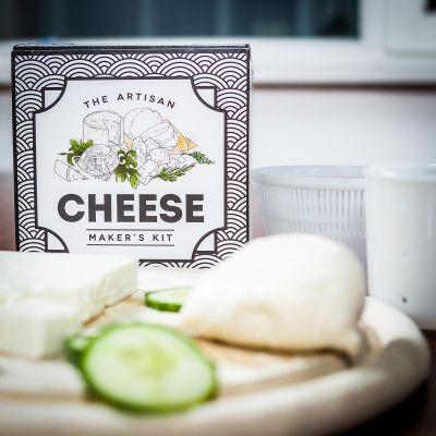 Huwelijkscadeau - The Artisan Cheese Maker's Kit - zelf kaas maken