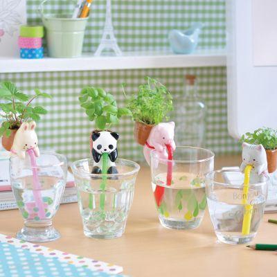 Kerstcadeau voor kinderen - Chuppon beestachtige kruidenpotjes met zelfbewatering