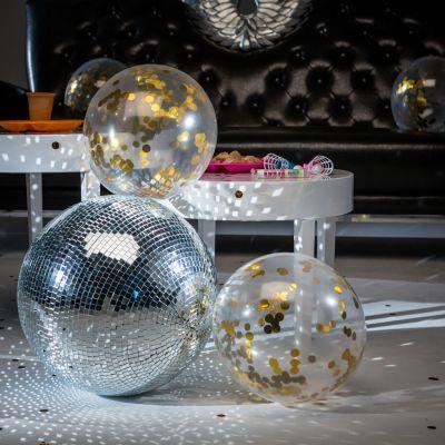 Gadgets voor festival - Ballonnen met gouden confetti