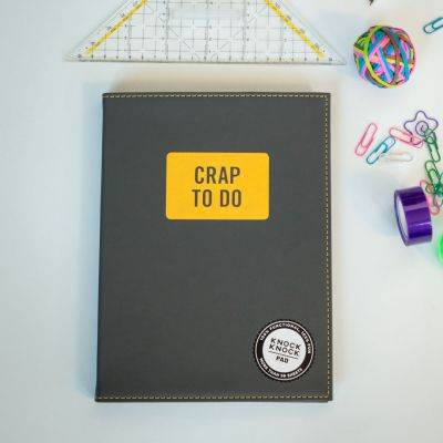 Nieuw - Crap To Do notitieblok