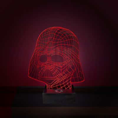 Housewarming cadeau - Star Wars Darth Vader lamp met 3D-effect