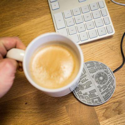 Gadgets & Techniek - Star Wars Deathstar tasverwarmer met USB