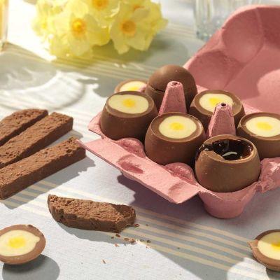 Snoepgoed - Chocolade eieren om te dippen