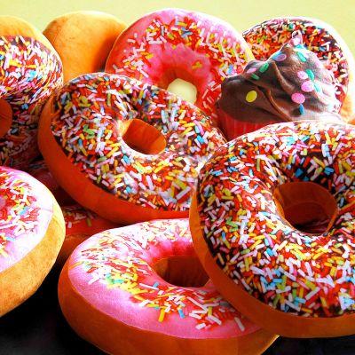 Kerstcadeau voor kinderen - Donut Kussen