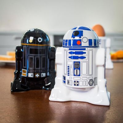 Film & Serie - Star Wars R2D2 & R2Q5 peper-en-zoutstel