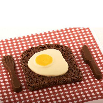 Verjaardagscadeaus voor 18 - Bacon & Egg van chocolade