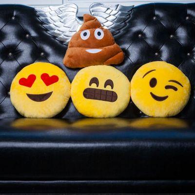 Verjaardagscadeau voor moeder - Emoji kussen