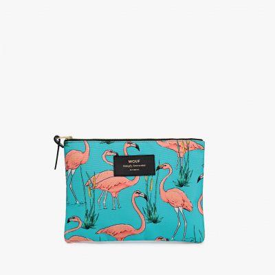Zomer - Elegant flamingo tasje