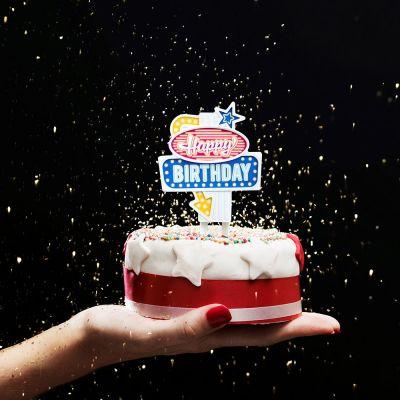 Verjaardagscadeaus voor 18 - Verjaardagslampjes in Vegas stijl