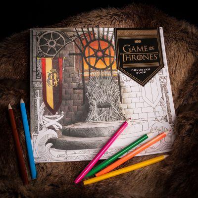Boeken - Game Of Thrones Kleurboek