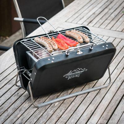Retro kamer - Wild & Wolf BBQ koffer