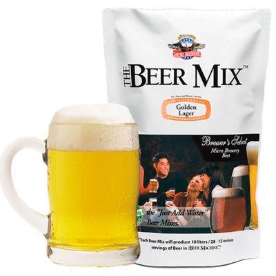 Verjaardagscadeau voor 40 - Navulling van de biermachine - Golden Lager, Vienna en Canadian Red Lager Mix