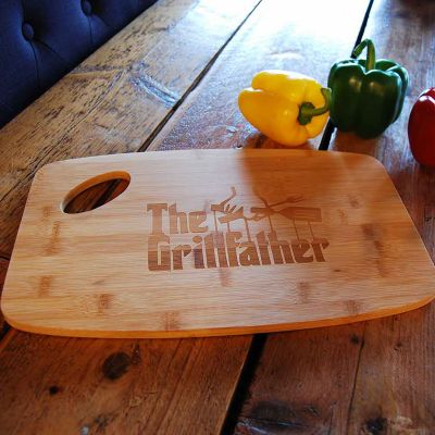 Coole keukengerei - The Grillfather snijplank