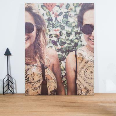 Gepersonaliseerd cadeau - Personaliseerbare foto op hout