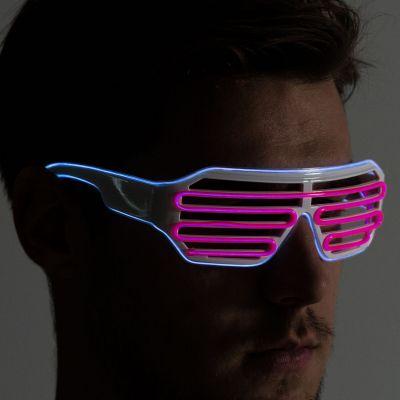 Halloween cadeau - Bril met kleurrijke LEDs