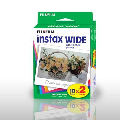 SOLDEN - Fujifilm Instax WIDE camerafilms - set van 2