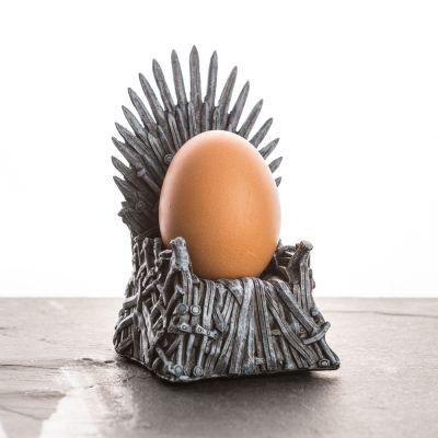 Verjaardagscadeau voor vriend - Iron Throne eierdop