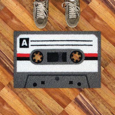 Retro kamer - Cassettebandjes deurmat