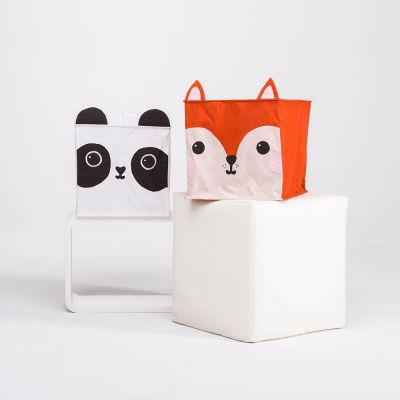 Housewarming cadeau - Vos en panda lampenkap