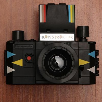 Retro kamer - DIY Konstruktor SLR lomografie camera