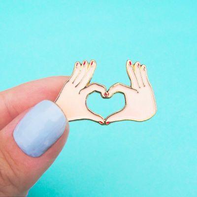 Toffe Accessoires - Liefdes pin