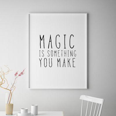 Exclusieve producten - Magic poster van MottosPrint