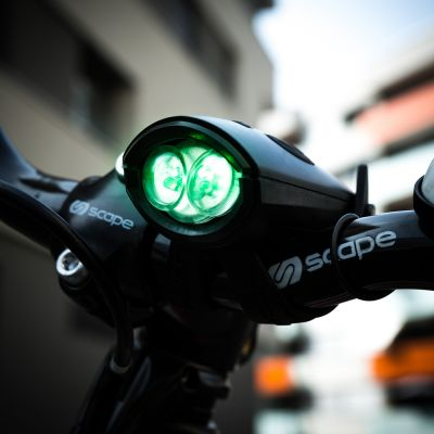 Outdoor & sport - Mini Hornit fietslicht met geluid