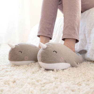 Slippers - Verwarmde walvis huisslippers