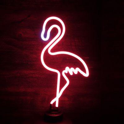 Verjaardagscadeau voor moeder - Flamingo neon licht