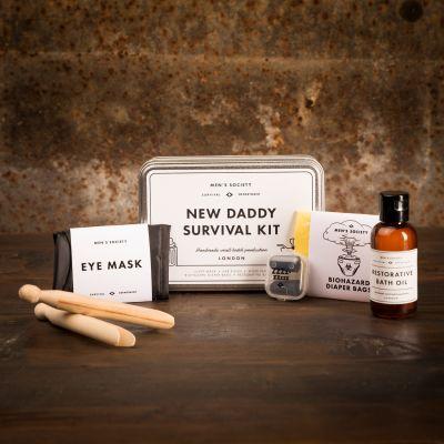 Verjaardagscadeau voor hem - Overlevingsset voor nieuwe papa's