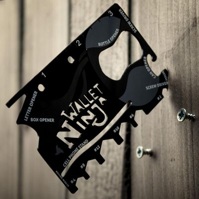 Verjaardagscadeau voor 50 - Ninja 18 in 1 universeel gereedschap