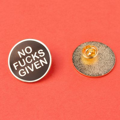 Toffe Accessoires - No Fucks Given pin