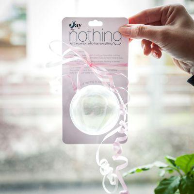 """Cadeau voor vriend - """"Niets"""" – Nothing"""