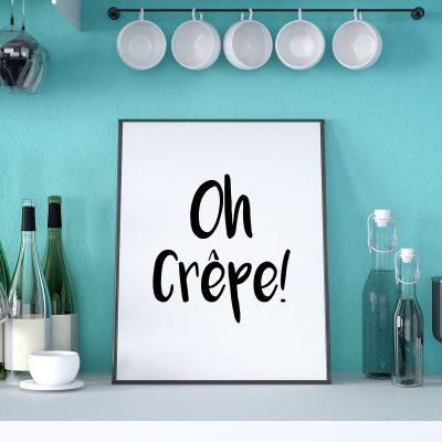 Posters - Oh Crêpe poster
