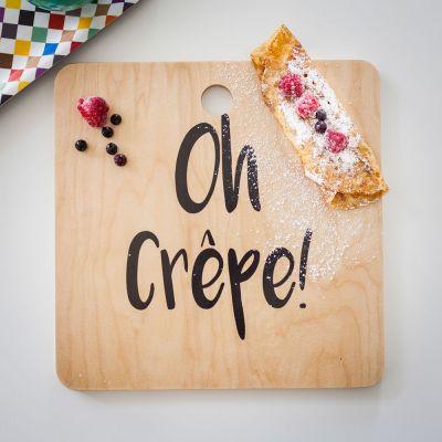 Exclusieve producten - Oh Crêpe snijplank